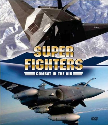 Classic Superfighters - Combat in the Air  (DVD) cover image