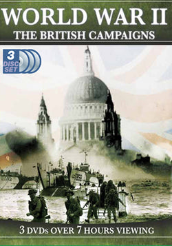 World War II - The British Campaigns  (DVD) cover image