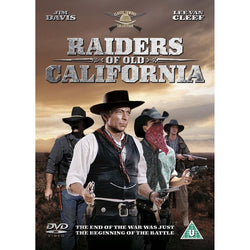 Raiders Of Old California  (DVD) cover image