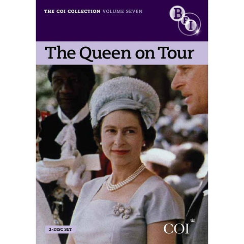 COI Collection Vol 7: The Queen on Tour  (DVD) cover image