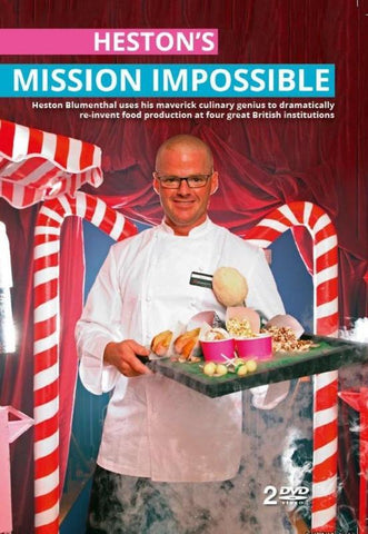 Hestons Mission Impossible:Heston Blumenthal - Channel 4 TV Series(DVD) cover image