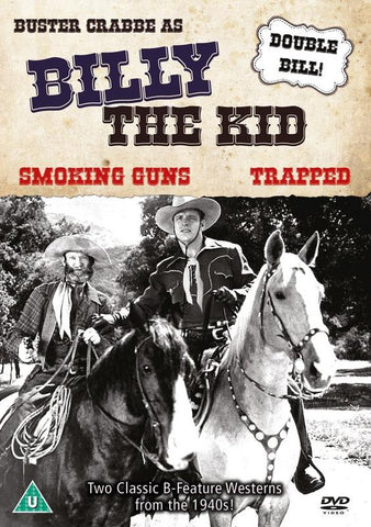 Billy The Kid's Smoking Guns / Trapped  (DVD) cover image