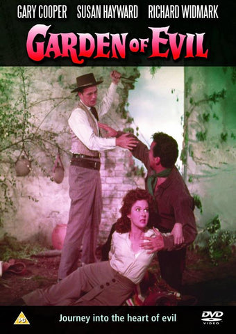 Garden Of Evil  (1954) (DVD) cover image