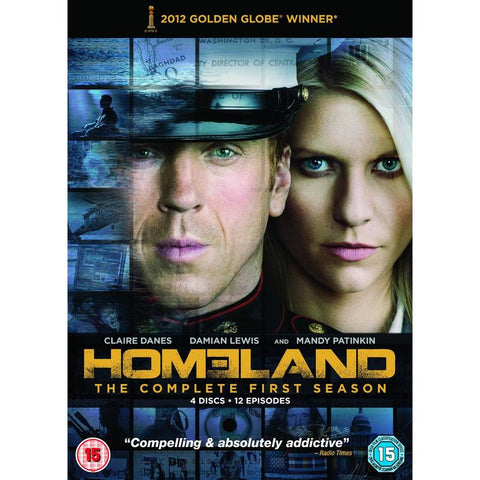 Homeland - Season 1  (DVD) cover image