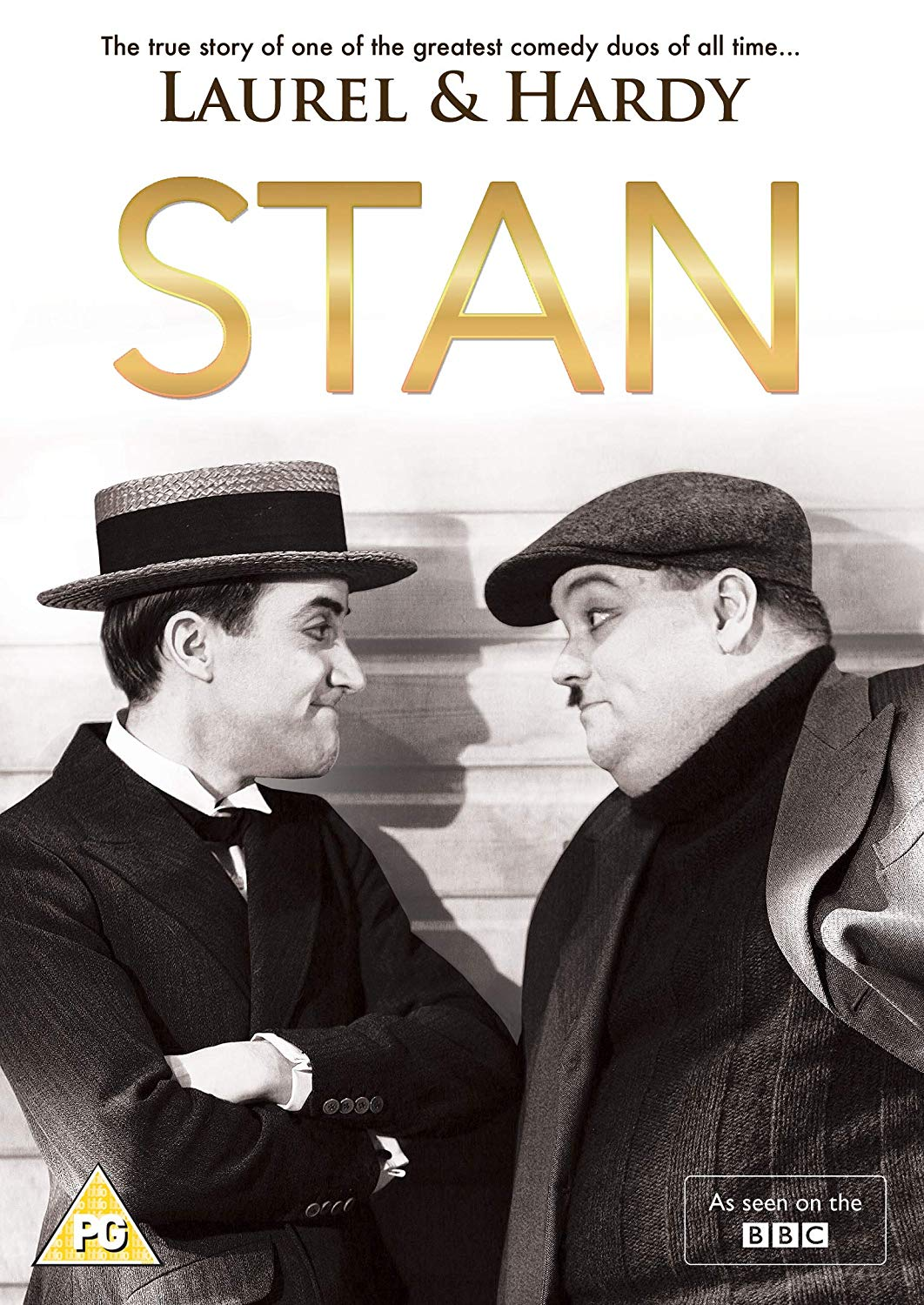 Image of Stan - The Tue Story of the Greatest Comedy Duo Laurel & Hardy (DVD)