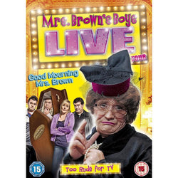 Mrs Brown's Boys Live Tour: Good Mourning Mrs Brown  (DVD) cover image