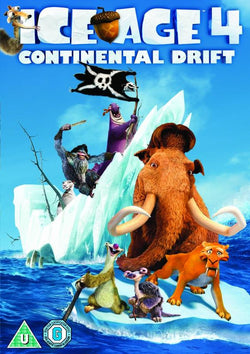 Ice Age 4: Continental Drift  (DVD) cover image