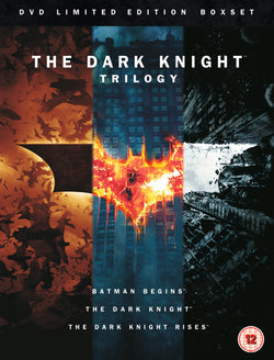 The Dark Knight Trilogy (Includes Special Booklet) (DVD)