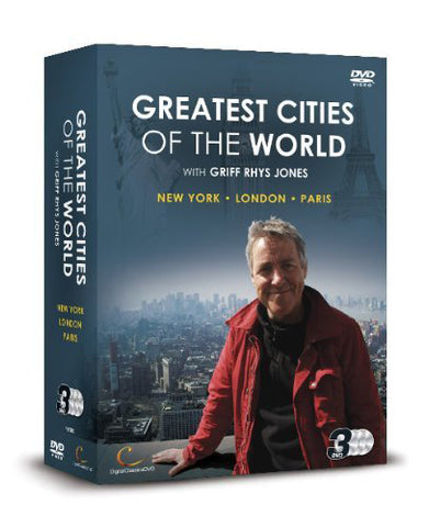Greatest Cities of the World with Gryff Rhys Jones: Series 1(DVD).CoverIMG