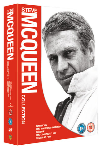 Steve Mcqueen Box Set - Tom Horn / Towering Inferno / Bullitt / The Cinncinatti / Never So Few (DVD) cover image