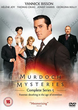 Murdoch Mysteries - Series 5  (DVD).CoverIMG