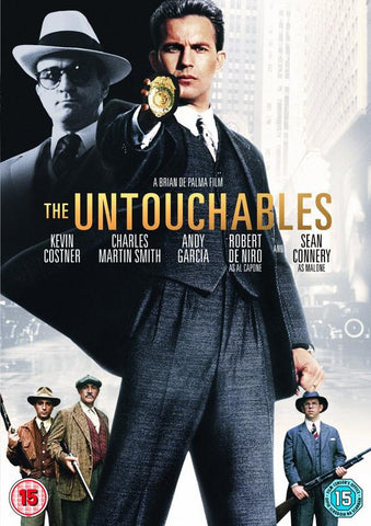 The Untouchables  [1987] (DVD) cover image