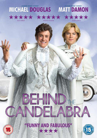 Behind the Candelabra  (DVD) cover image