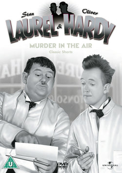 Laurel & Hardy Volume 6 - Murder in the Air/Classic Shorts (DVD) cover image