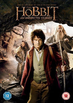 The Hobbit Book and An Unexpected Journey (DVD) cover image