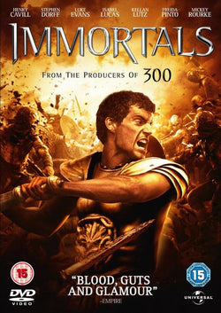 Immortals  [2011] (DVD) cover image