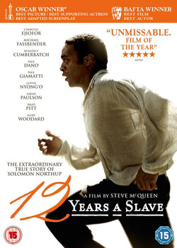 12 Years A Slave (DVD).Cover Image
