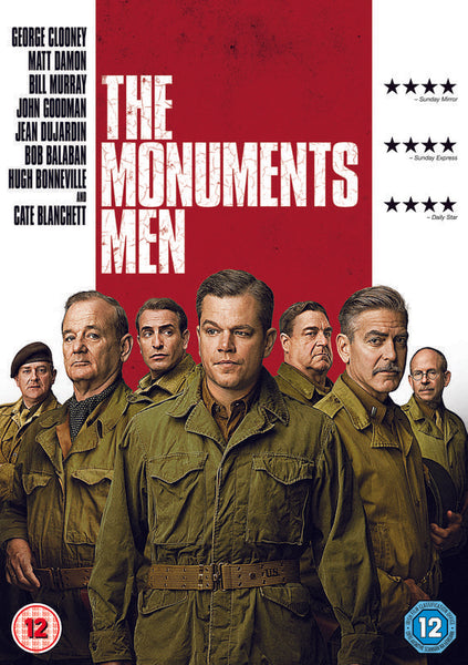 The Monuments Men  (DVD) cover image