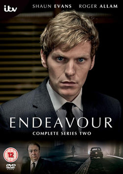 Endeavour - Series 2 (DVD) cover image