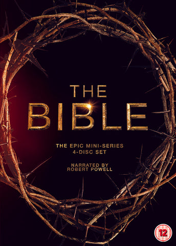 The Bible: The Epic Mini-Series (DVD) cover image