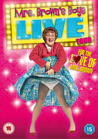 Mrs Brown's Boys Live Tour - For the Love of Mrs Brown  [2013] (DVD) cover image
