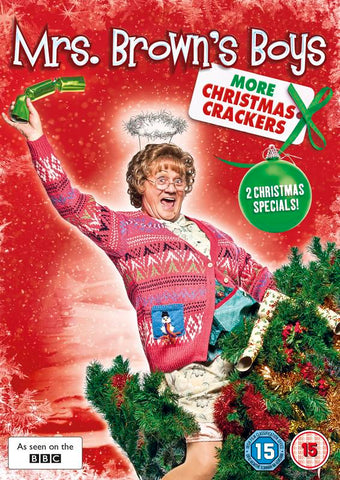 Mrs Brown's Boys: More Christmas Crackers [DVD] [2013].CoverImg