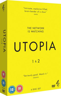 Utopia - Series 1 & 2 (DVD) cover image