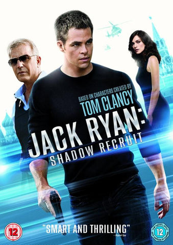 Jack Ryan: Shadow Recruit  (DVD) cover image