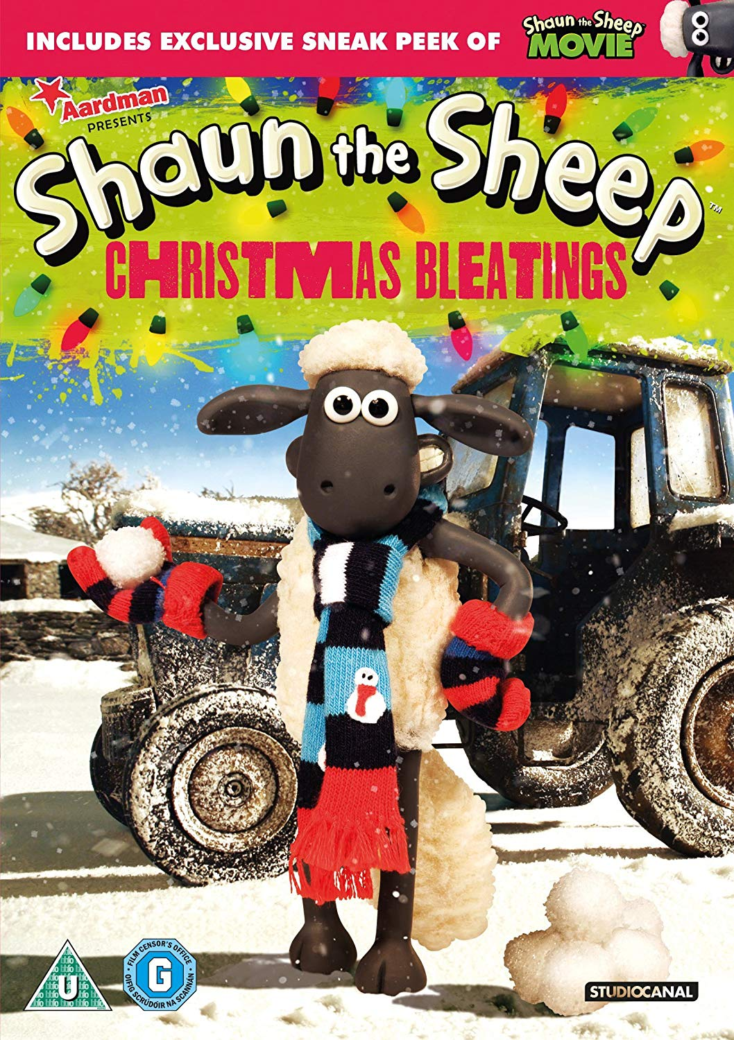 Shaun the Sheep Christmas Bleatings (DVD)