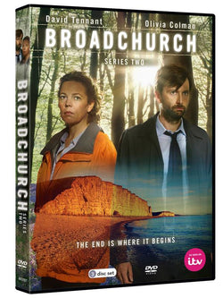 Broadchurch - Series 2 (DVD) cover image