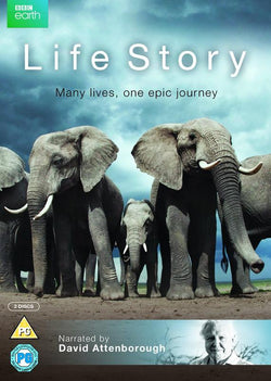 David Attenborough - Life Story  [2014] (DVD).CoverIMG