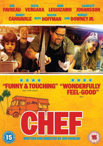 Chef  (DVD) cover image