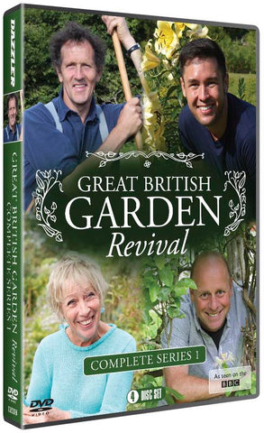 Great British Garden Revival: Series One  (DVD) cover image