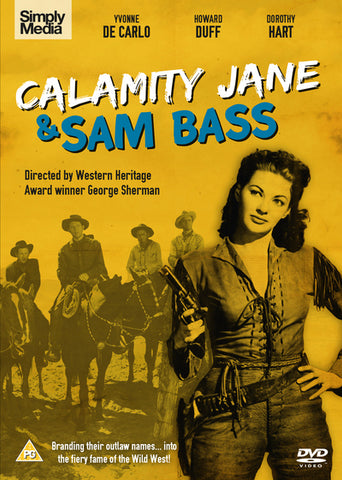 Calamity Jane And Sam Bass  (DVD) cover image