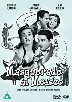 Masquerade In Mexico (DVD) cover image