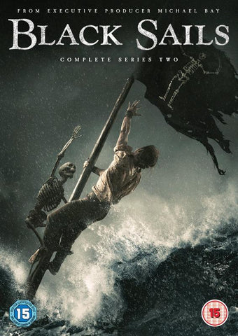 Black Sails - Series 2 (DVD) cover image