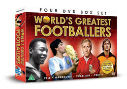 World's Great Footballers - 4 DVD BOXSET