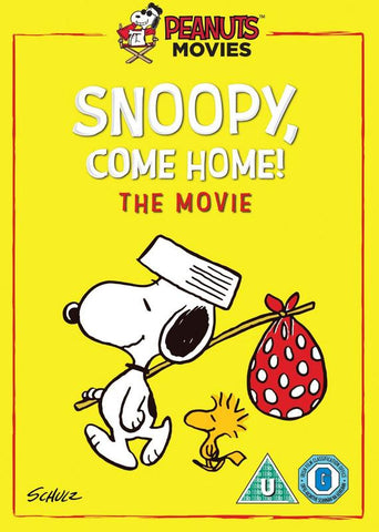 Snoopy, Come Home! - The Movie  (DVD) cover image