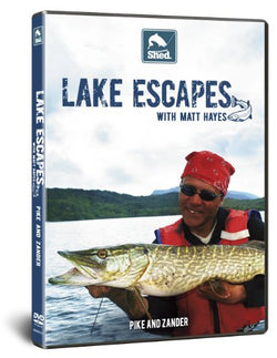 Lake Escapes with Matt Hayes Pike and Zander (DVD)