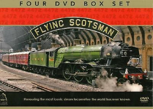 Flying Scotsman 4 DVD collection.CoverImg