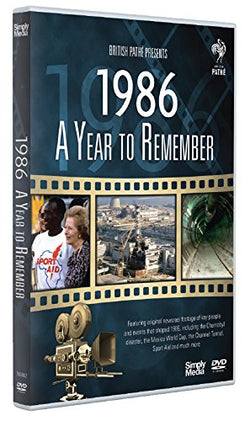 A Year to Remember 1986  (DVD) cover image