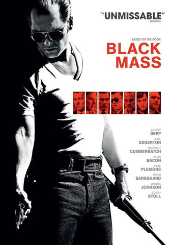 Black Mass  [2016] (DVD) cover image