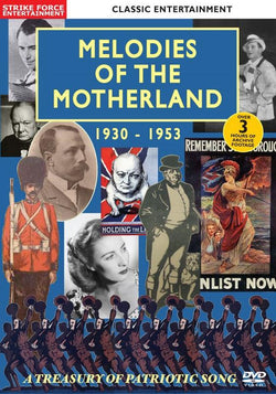 MELODIES OF THE MOTHERLAND 1930-1953: A TREASURY OF PATRIOTIC SONG [DVD AUDIO] (DVD) cover image