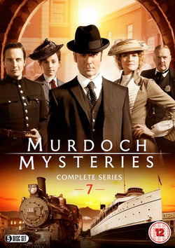 Murdoch Mysteries: Series 7  (DVD) cover image