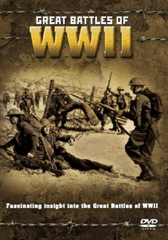 GREAT BATTLES OF WWII  (DVD) cover image