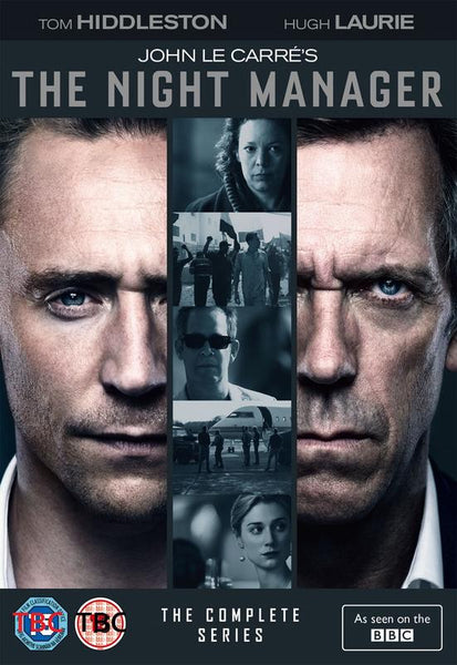 The Night Manager  [2016](DVD) cover image