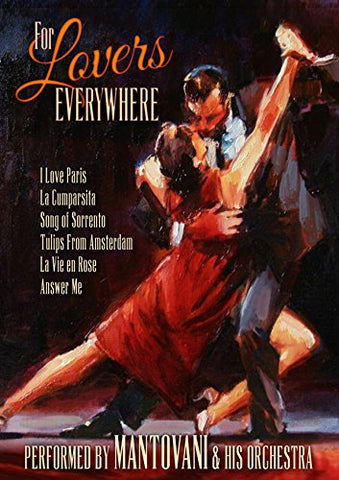 Mantovani's For Lovers Everywhere  (DVD) cover image