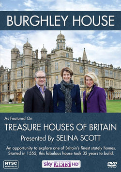 Treasure Houses Of Britain: Burghley House  (DVD) cover image
