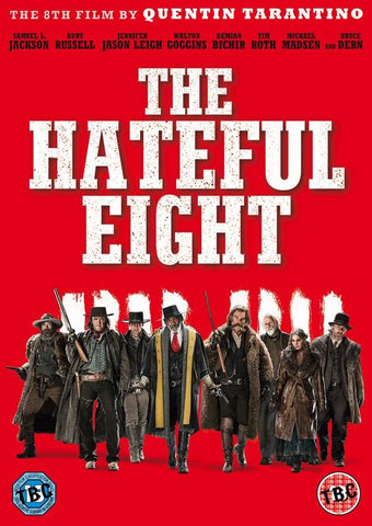 The Hateful Eight (DVD) cover image