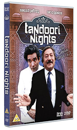 Tandoori Nights: Series 1 and 2  (DVD) cover image